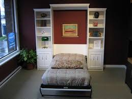 Ikea Toddler Bed Manchester Bed Desk Ikea Hacker Murphy Wall Bed With Dark Brown Make A