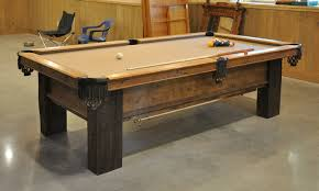 how to refelt a pool table video a custom pool table from reclaimed lumber finewoodworking