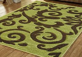 Modern Green Rugs by Lime Green And Brown Rug Home Design Ideas