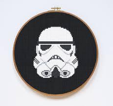 free stormtrooper cross stitch pattern imgur