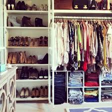 how to have a chic well organized closet u2014 the decorista