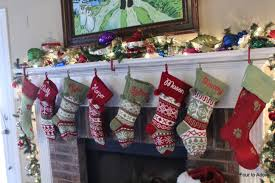 decorating outstanding needlepoint christmas stockings for