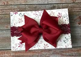 burgundy headband maroon headband maroon baby headband maroon baby bow burgundy