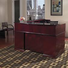 L Shaped Reception Desk Osp Furniture Mendocino L Shaped Reception Desk U0026 Reviews Wayfair