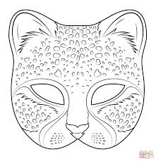 coloring download cat mask coloring page cat mask coloring page