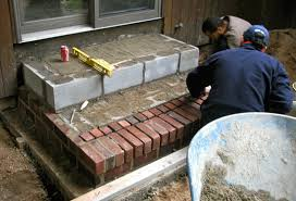 Brick Stairs Design Http Dfldesign Images Masonry Brick Steps Construction Gif