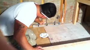 how to remodel a bathroom custom shower pan 4 youtube
