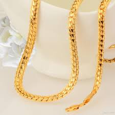new fashion gold necklace images 2018 europe and the united states fashion new gold plated snake jpg