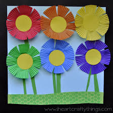 planting a rainbow flower craft rainbow flowers flower crafts