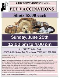 pets news tips u0026 guides glamour upcoming pet vaccination at bull sallas park continues a mission