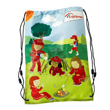 rainbow sling bag rainbow gifts and fun badges girlguiding