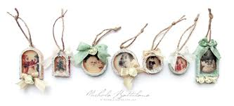 pixie hill tiny vintage charm ornaments