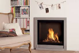 gas fireplace contemporary closed hearth built in global