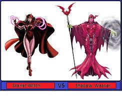 scarlet witch original costume scarlet witch vs shadow weaver battles comic vine