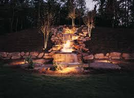 waterfall lighting outdoor lighting perspectives of birmingham