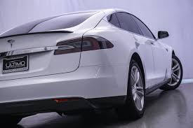 Pre Owned 2013 Tesla Model S 40kw Sedan In Warrenville Um2223a