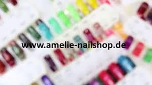 cat s eye uv led gel color palette by amélie royal nails youtube