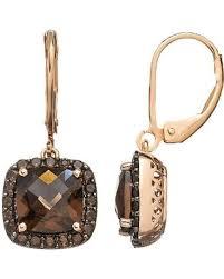 smoky quartz earrings shopping sales on smoky quartz 10k gold silver