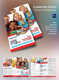 tri fold school brochure template tri fold school brochure template 17 school brochure psd templates