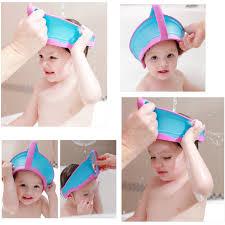 baby shower caps hot sale adjustable baby shower cap protect shoo kids bath