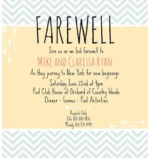 farewell party invitation 7 best farewell invitation images on farewell