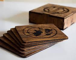 engraved coasters etsy