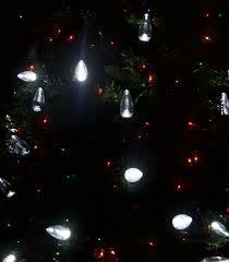C9 White Christmas Lights Pure White C9 Led Smooth Christmas Light Bulb