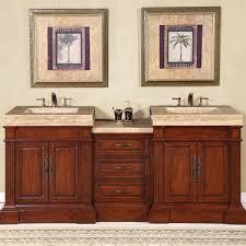 amazon com silkroad exclusive travertine integral sink bathroom