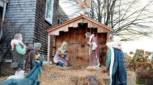 Home Interiors Nativity Set Cops Baby Jesus From East Islip Church U0027s Nativity Scene Stolen