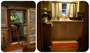 Renovating A Kitchen How To Renovate A Heritage Log Cabin Interior U2013 Diy Style