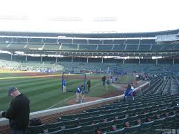 Chicago Cubs Seat Map by Wrigley Field Section 104 Chicago Cubs Rateyourseats Com