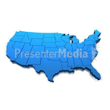 us map outline image united states blue map outline signs and symbols great clipart