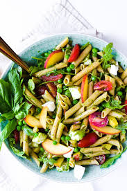 What Is Pasta Salad Spring Pasta Salad With Basil Vinaigrette