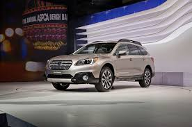 subaru baja 2015 2015 subaru outback unveiled in new york automobile magazine