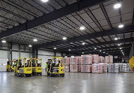 led loading dock lights racks and loading dock lighting