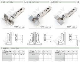 european hidden cabinet hinges clip on t type 3d adjustable soft close cabinet hinge european
