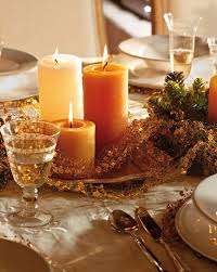 candle arrangements diy christmas candle centerpieces 40 ideas for your table
