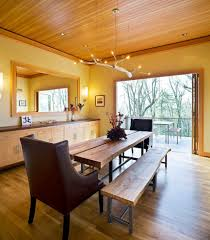 Dining Ceiling Lights Light Wood Bench Dining Room Traditional With Ceiling Lighting