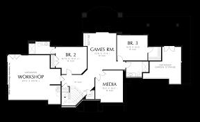Hillside House Plans by Mascord House Plan 1318 The Landgren