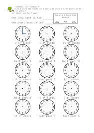 what u0027s the time write the times on the clocks by
