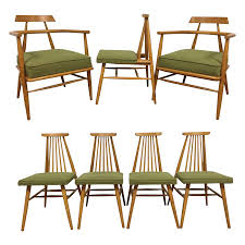 Dinette Chairs by Paul Mccobb For O U0027hearn Dining Chairs Set Of 7 Chairish