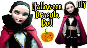 Makeup For Halloween Costumes by Halloween Dracula Doll How To Make Halloween Costume And Makeup