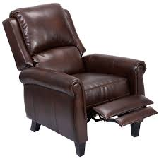 furniture leather wingback recliner for comfortable armchair