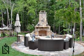 656 Best Outdoor Fireplace Pictures by Outdoor Living Luxury Living Scapes Inc