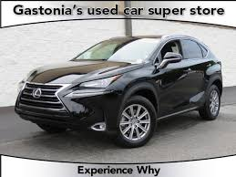 pre owned cars lexus pre owned 2017 lexus nx nx turbo suv in gastonia pt4843a
