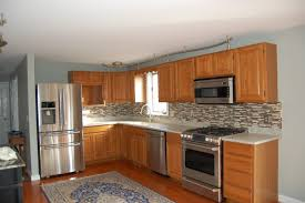 Oak Kitchen Cabinets And Wall Color Kitchen Ideas Kitchen Colors With Wood Cabinets Paint Honey Oak