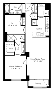 2 Bedroom Ranch Floor Plans by Floor Plans Senate Square Apartments The Bozzuto Group Bozzuto