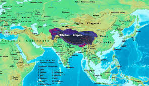 Map Of Nepal And Tibet by World History Maps By Thomas Lessman
