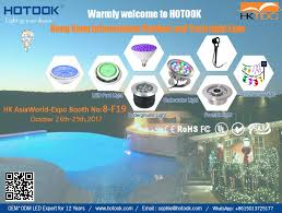 solar pool lights underwater shenzhen hotook industrial co ltd led pool light led underwater