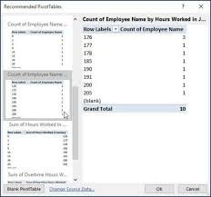How To Do A Pivot Table In Excel 2013 How To Create A Pivot Table In Excel 2016